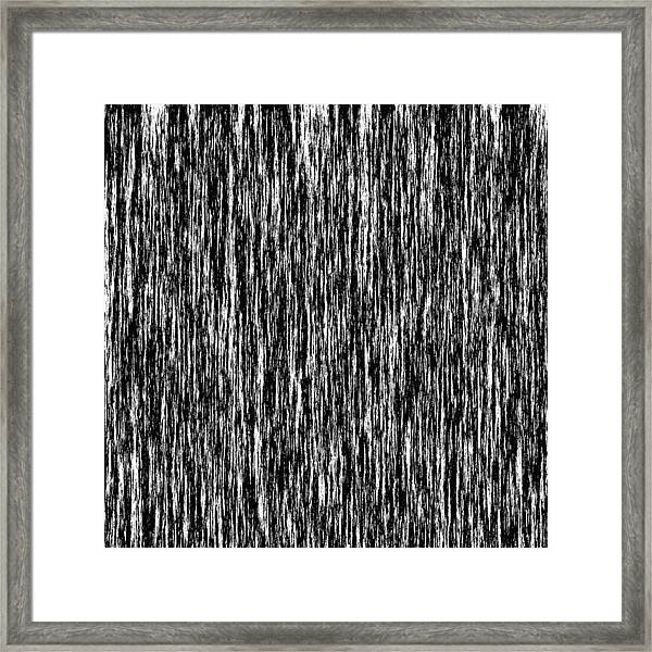 Abstract In B 'n' W Framed Print
