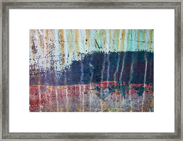Abstract Landscape Framed Print