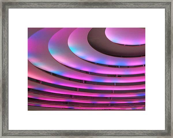 Abstract Light Framed Print
