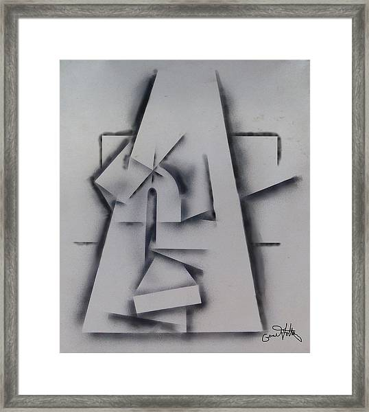Abstract Minimalism Framed Print