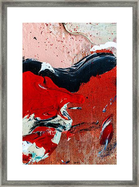Abstract Original Artwork One Hundred Phoenixes Untitled Number Four Framed Print