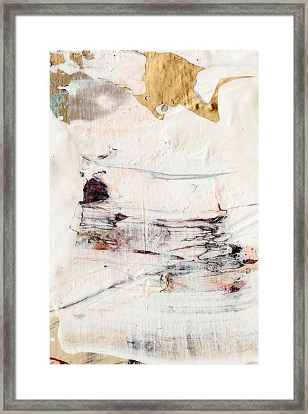 Abstract Original Painting Number Eleven Framed Print