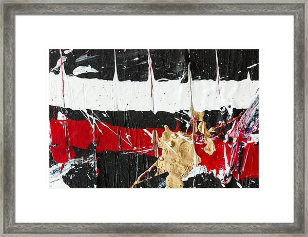 Abstract Original Painting Number Five Framed Print