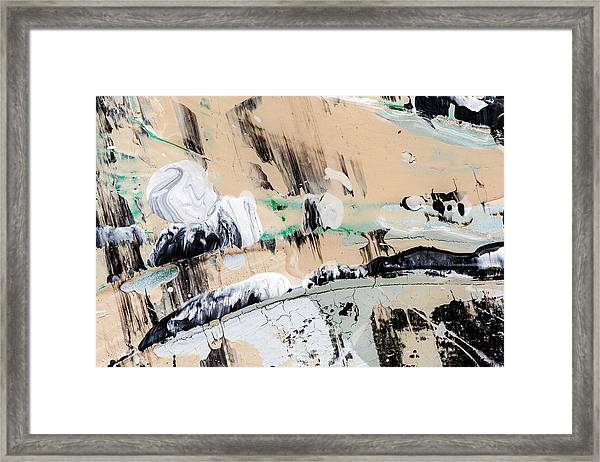 Abstract Original Painting Number Seven  Framed Print