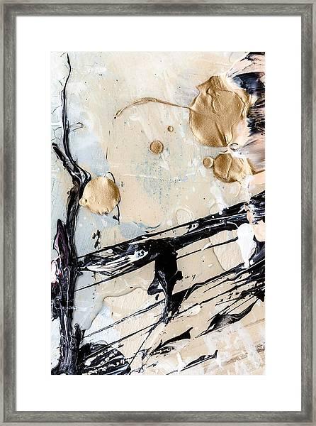 Abstract Original Painting Untitled Twelve Framed Print