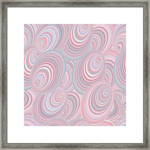 Abstract Seamless Background Resembling Framed Print by Kseniavasil