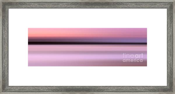 Abstract Sunset 1 Framed Print
