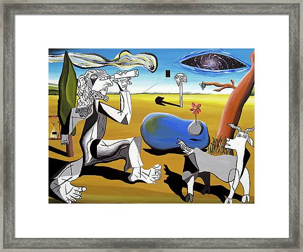Abstract Surrealism Framed Print