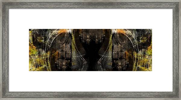 Abstract Symmetry Framed Print