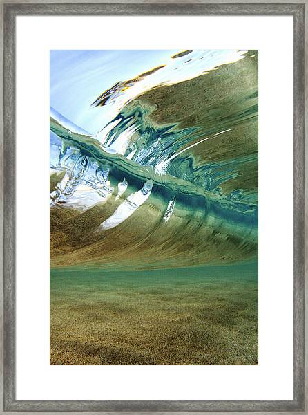 Abstract Underwater 2 Framed Print