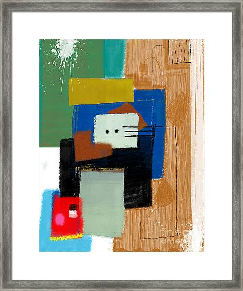 Abstract, Which Consists Of A Plurality Framed Print