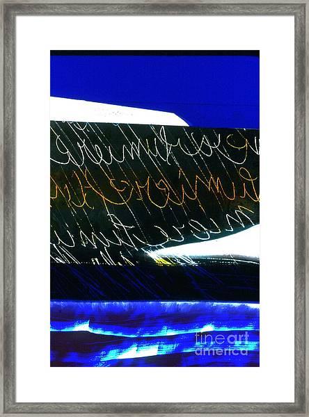 Abstrait 8 Framed Print
