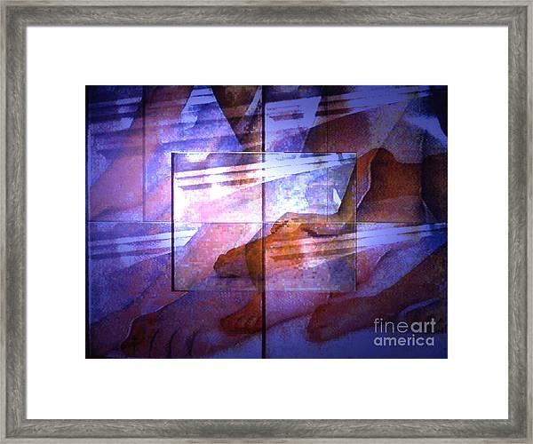 Abstrait3 Framed Print