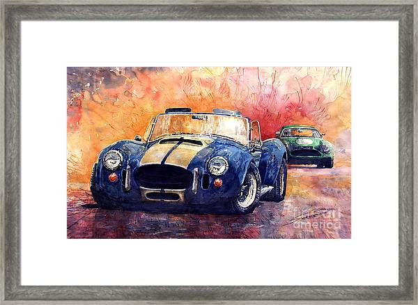 Ac Cobra Shelby 427 Framed Print