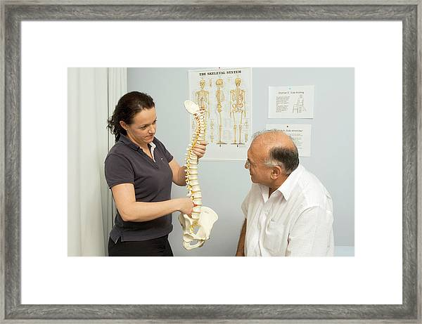 Acupuncture Consultation Framed Print