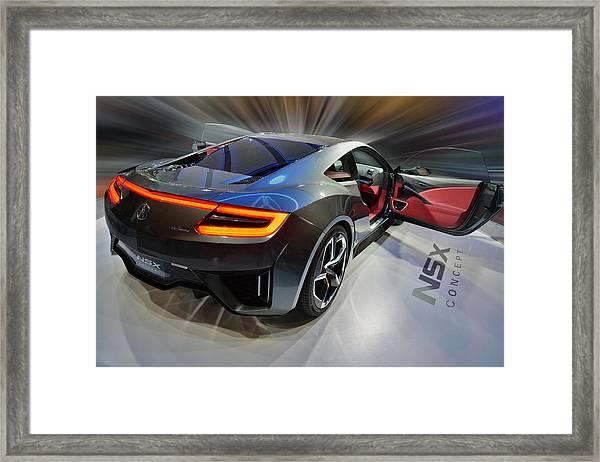 Acura N S X  Concept 2013 Framed Print
