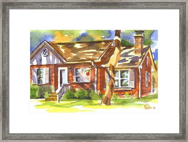 Adams Home Framed Print