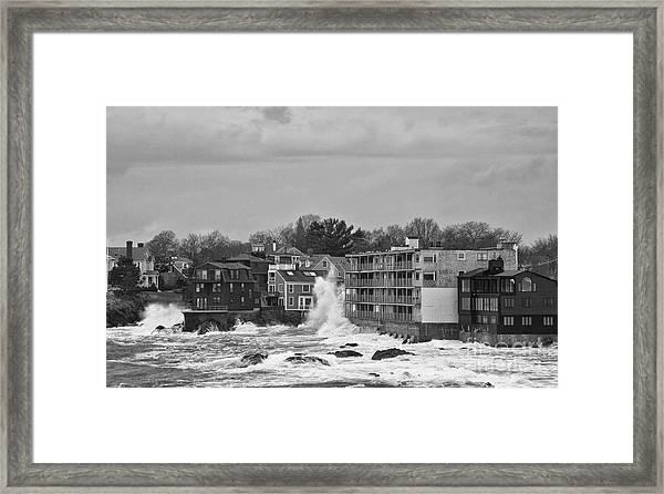Adams House Splash Framed Print