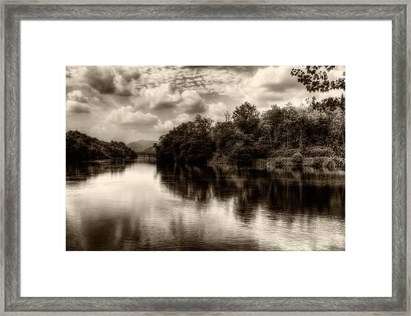 Adda River 2 Framed Print