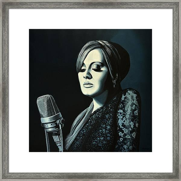 Adele 2 Framed Print