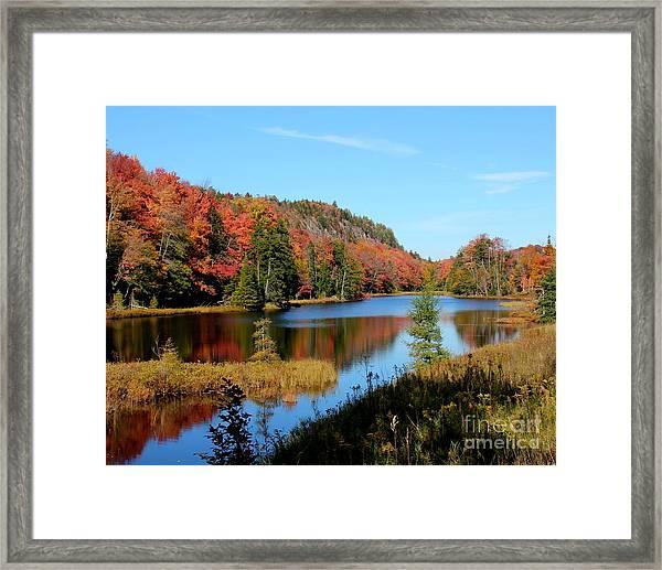 Adirondack Splendor Framed Print