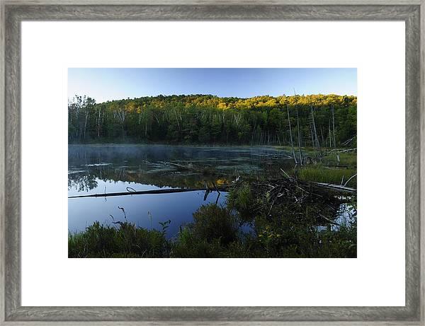 Adirondack Sunrise Framed Print