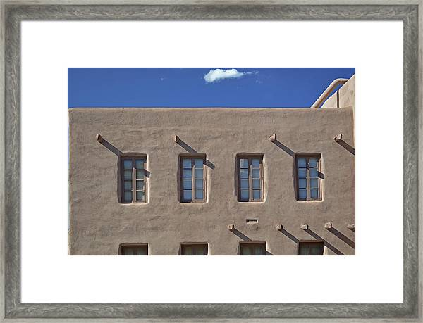 Adobe Architecture II Framed Print