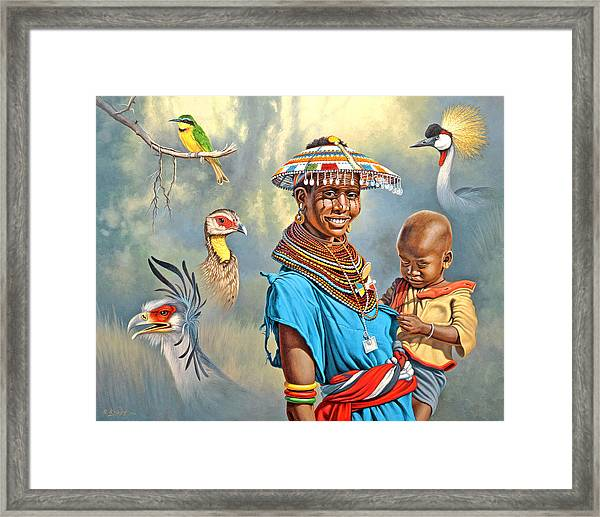 Adornments Framed Print by Paul Krapf