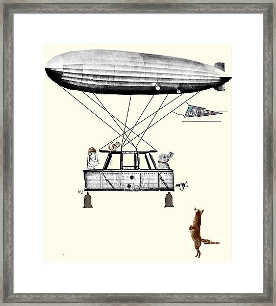 Adventure Days 2  Framed Print