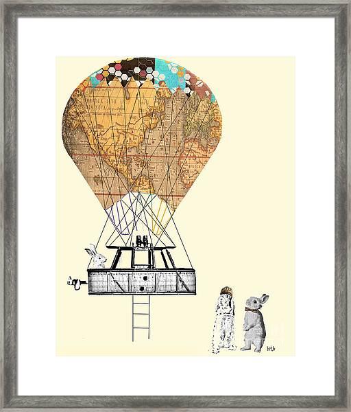 Adventure Days  Framed Print