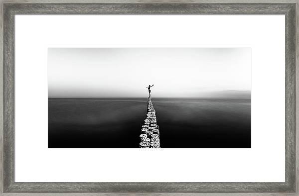 Aequilibrium Framed Print