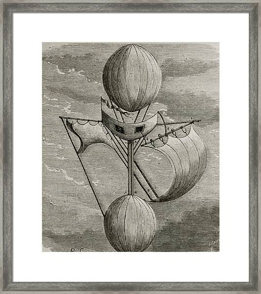 Aeronautical Vessel Framed Print