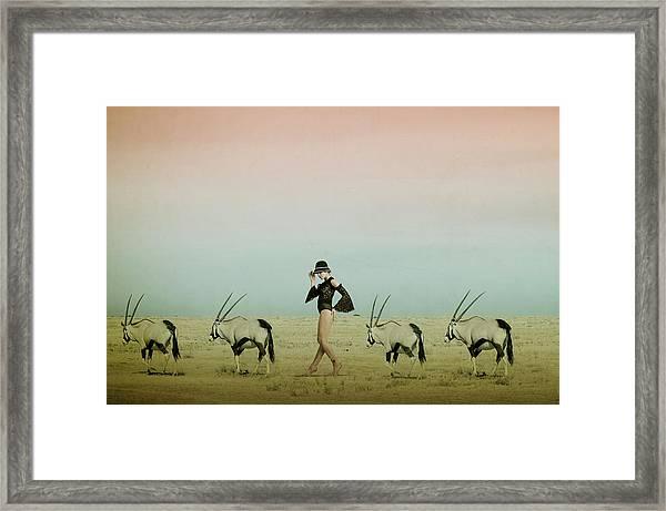 Africa Iv Framed Print