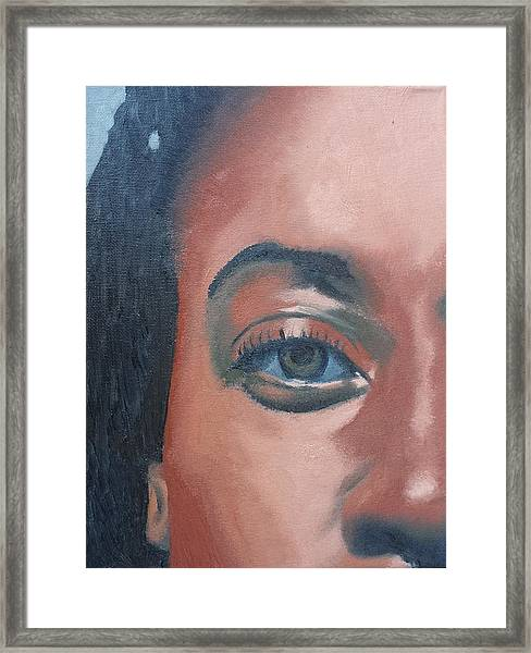 African Beauty Framed Print