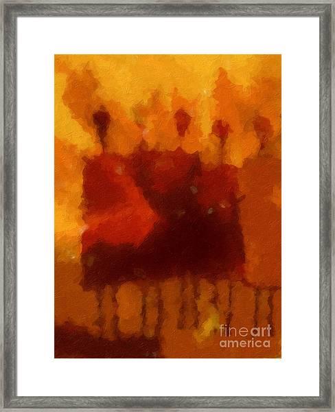 African Impression Framed Print