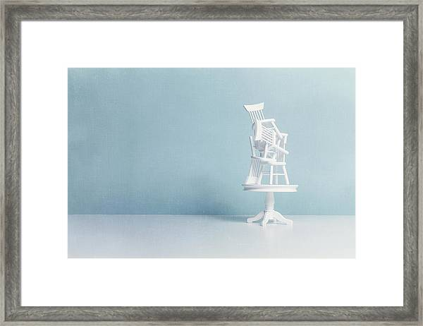 After Everybody Leaves... Framed Print by Image by Catherine MacBride