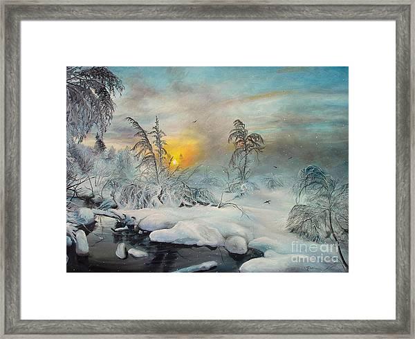 After Storm Framed Print