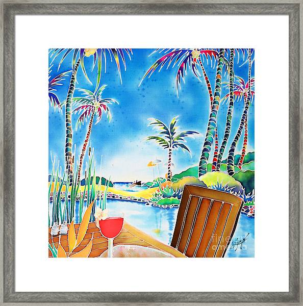 After The Squall Framed Print