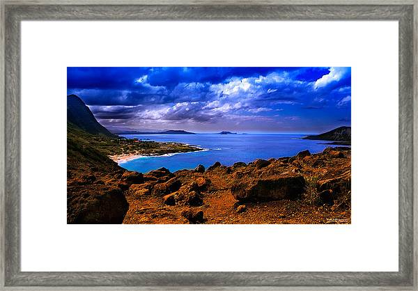 After The Storm - Color Framed Print