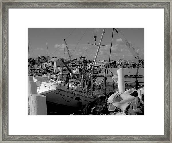 Framed Print featuring the photograph After The Storm by Debbie Cundy