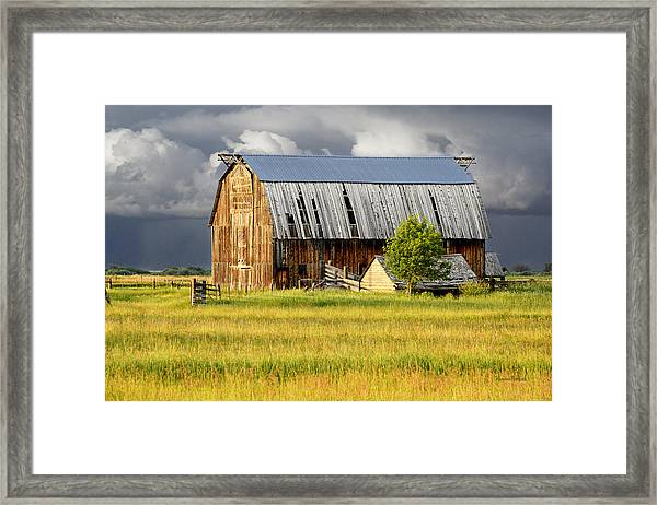 After The Storm II Framed Print