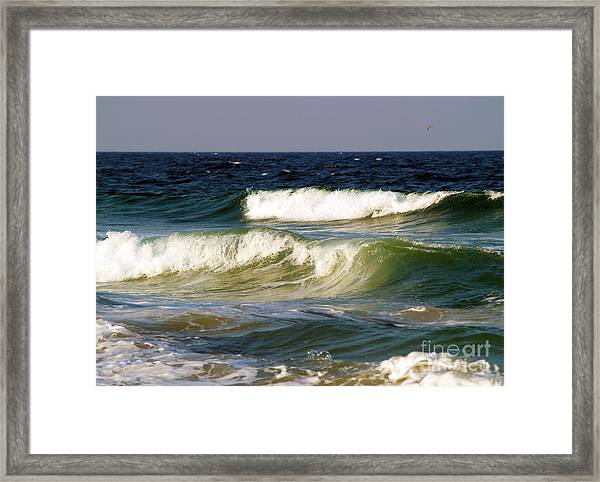 Aftermath Of A Storm Framed Print