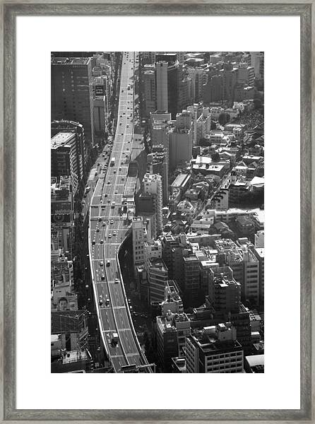 Afternoon Above Tokyo Framed Print