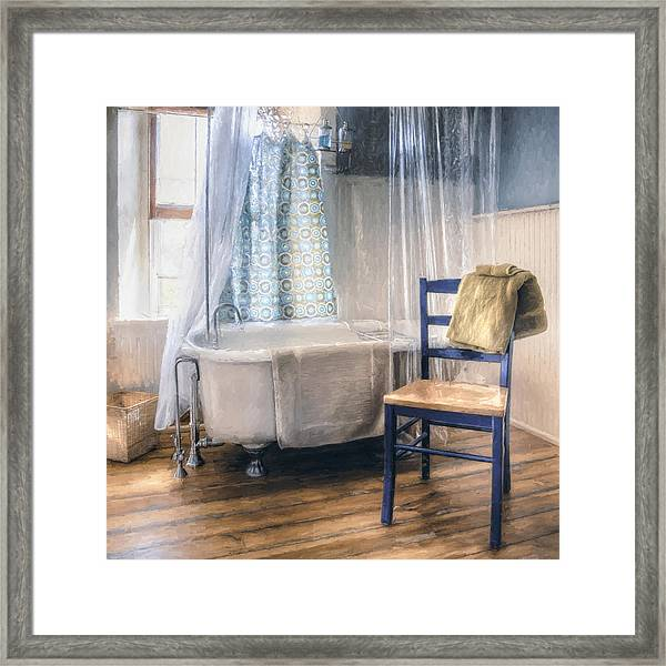 Afternoon Bath Framed Print
