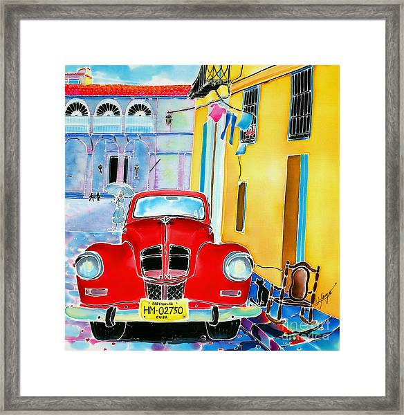 Afternoon In Havana Framed Print