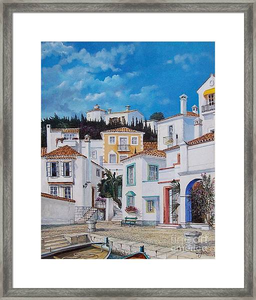 Afternoon Light In Montenegro Framed Print