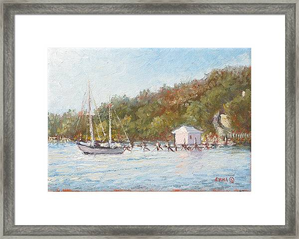 Afternoon On The Bay Framed Print