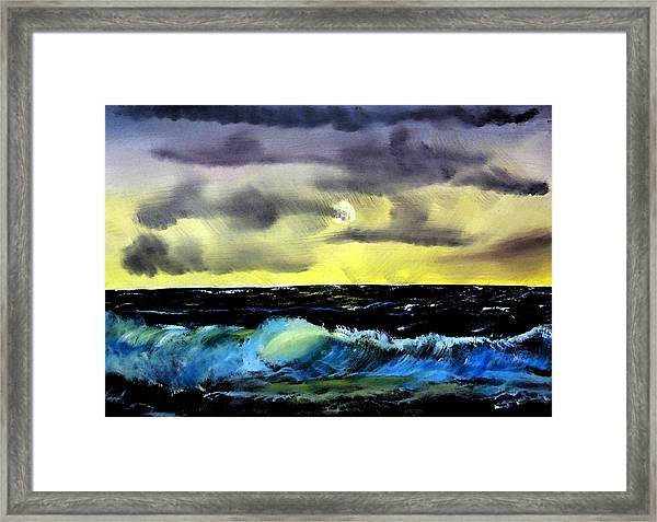 Afternoon On The Oceans Framed Print