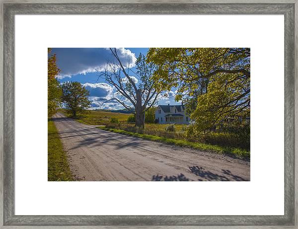 Afternoon On Thoreson Farm Framed Print