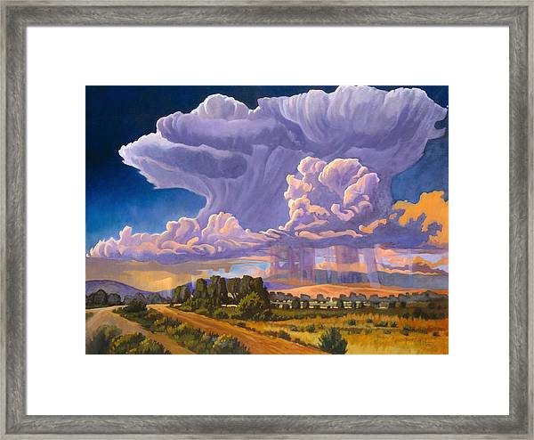 Afternoon Thunder Framed Print